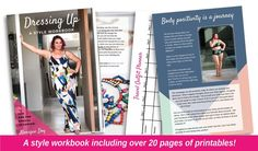 Style Workbook — Dressing Up - Inbetweenie and plus size style inspiration Fit Flare Dress, Fit And Flare, Tee Dress, Dress Up, Wardrobe Organisation, Organization, Side Split Dress, Petal Sleeve, Plus Size Brands