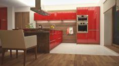 Kuchynský ostrovček je dizajnový, ako aj funkčný doplnok v domácnosti.