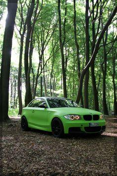 BMW 1 Flat Green