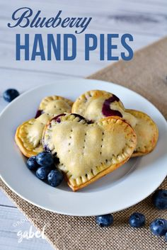 Hand pies are a fun dessert recipe perfect for lunches or when you're on the go! These blueberry hand pies are simple to make with homemade pie crust or store bought and an easy blueberry filling. Make them in any shape - but we love the hearts!