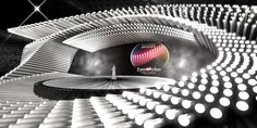 PHOTOS: ORF Reveals Designs for Eurovision 2015 stage in Vienna