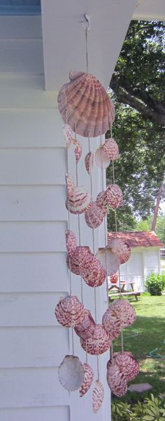 Sweet Sounds Seashell Windchime by Bitsofthebeach on Etsy, $22.50