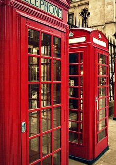 Vintage #Telephone Booth. Red Photography, Vintage Photography, Telephone Booth, Vintage Telephone, Scotland Holidays, Hello My Love, China Cabinet, Locker Storage, England