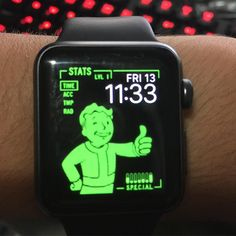 That moment when you turn your Apple Watch into a pipboy  @reedrosenberg @uantus2 #fallout4 #apple #applewatch #pipboy #pipboyremake #vaultboy #awesome by adar.ambar