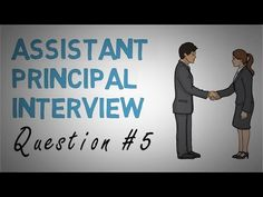 Assistant Principal Interview Question 5 - YouTube Assistant Principal Interview Questions, Interview Questions And Answers, School Leadership, Educational Leadership, Vice Principals, Interview Preparation, Curriculum, Teaching, This Or That Questions