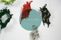 Conceptsmithing - Camouflage brooch 컨셉스미싱 브로치