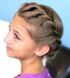 Awe Inspiring Beautiful Kid And Videos On Pinterest Hairstyles For Women Draintrainus