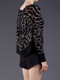 aaceeb7e0 Ann Demeulemeester - Loose knit sweater 4 Knitting Designs