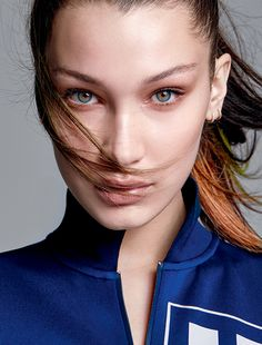 nice Bella Hadid is sporty chic for Elle Brazil February 2016 by Max Abadian [fashion] Kendall, Kylie, Black And White Models, Sleek Ponytail, Good Looking Women, Most Beautiful Faces, Beautiful Women, Elle Magazine, No Photoshop