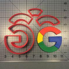 Google Logo 101 Cookie Cutter Set