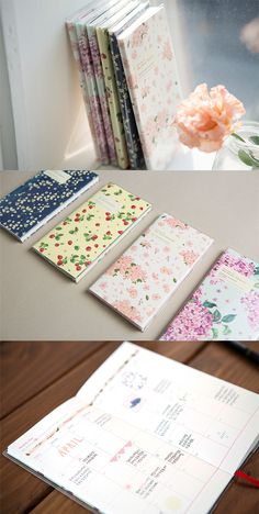 Can you smell that? It's the sweet smell of awesome planning with our beautiful Blossom Slim Planners!