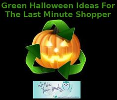 Whether you are heading out to a Halloween party, or just dressing the kids up for a round of trick-or-treating, when it comes to last minute Halloween shopping it can difficult to find green alternatives. Healthy Halloween, Halloween Party, Organic Candy, Kids Up, Fright Night, Pumpkin Carving, Holiday Fun, Whole Food Recipes, Eco Friendly