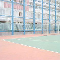 Image result for pink. markings. court. colour. Julian Faulhaber