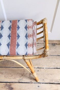 Vintage Bamboo Ottoman / Bench Stool Rattan by... — | Wicker Furniture Blog www.wickerparadise.com