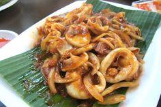 Stir Fried Squid w Sambal ~Singapore Style