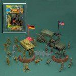 DELUXE 40 PIECE PLASTIC ARMY PLAY SET MEN – ~ « Delay Gifts