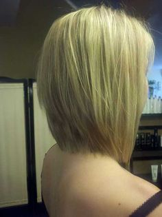 Long Bob Hair Back View