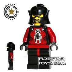 LEGO Castle - Knights Kingdom II - Le Chevalier Des Ombres   Castle LEGO Minifigures   LEGO Minifigures   FireStar Toys