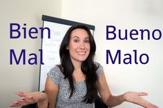 In this quick video you'll learn the difference between #bien and #bueno and also between #mal and #malo. Includes some translations to practice, let me know how it went!