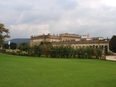 Outside of Chatsworth....Chatsworth House is a stately home in the county of Derbyshire in the East Midlands region of England.