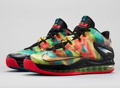lebron 11 low se multicolor Nike LeBron 11 Low SE Multi color   Foot Locker Release Date