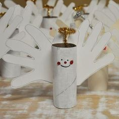 Engel mit handflügel