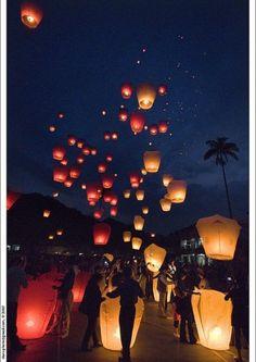 Night Lights ... Lantern Festival, Taiwan