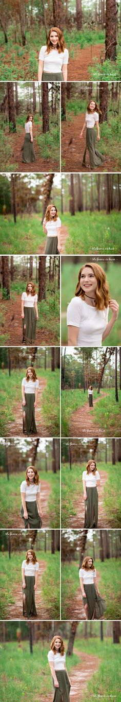 Senior Pictures | Senior Photography | High School Senior Photographers in Orlando and Winter Park | High School Senior Picture Ideas for Girls | Poses for Girls | Nature Inspired Photo Shoot | Wekiwa Springs State Park | Senior Picture Poses | Stefanie Cohen Photography