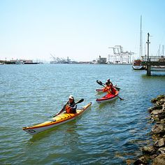 Sea kayaking, California Canoe & Kayak, Oakland