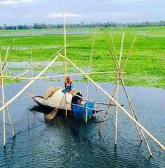 Bangladesh village fishing