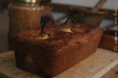 Le dessert de Béorn: Cake aux poires pochées au cidre, épices et miel