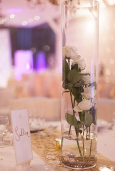 centre de table mariage oriental