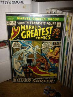 MARVEL'S GREATEST COMICS #35 SILVER SURFER, FANTASTIC FOUR, MARVEL COMICS