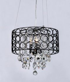 Warehouse of Tiffany W Antique Bronze Crystal Accent Pendant Light with Metal Shade Tiffany Chandelier, 3 Light Chandelier, Modern Chandelier, Pendant Lighting, Ceiling Fixtures, Light Fixtures, Chandeliers, Interior Design Living Room, Bronze