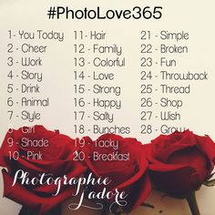 #PhotoLove365 - Photographie J'adore's 365 project on Instagram