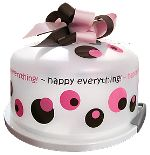 Happy Everything cake carrier - check out the link for many variations