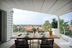 Pergolati - pergotenda Iridium di Corradi - regalati un balcone da vivere con Centro Tende