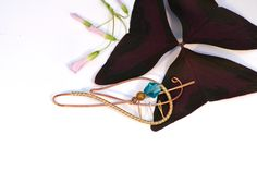 Everyday Peacocks -- Leaf Shawl Pin from the Cascade Collection