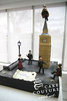 Sherlock Holmes Cake by Cake Couture - Edible Art Sherlock Cake, Sherlock Holmes, Easy Bake Oven, My Birthday Cake, Birthday Ideas, Character Cakes, Cupcake Cookies, Cupcakes, Cake Pictures