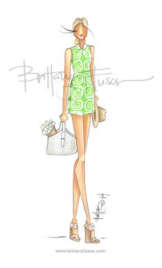 Brittany Fuson: Garden Party Tory Burch collection