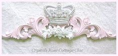 Shabby Chic Chippy Roses Nursery Girls Room by sweetlilboutique, $93.00