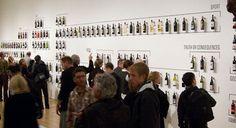 SFMOMA Wall of Bottles