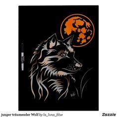 junger träumender Wolf Memoboard Memo Boards, Wolf, Batman, Superhero, Fictional Characters, Art, La Luna, Wolves, Guys
