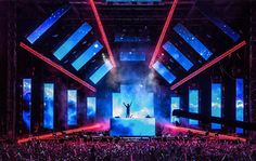We would love to build a stage for a #MusicFestival #EDM #DJ TriadCreativeGroup.com