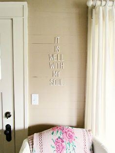 Cute wall idea