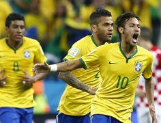Neymar brasil croacia reuters