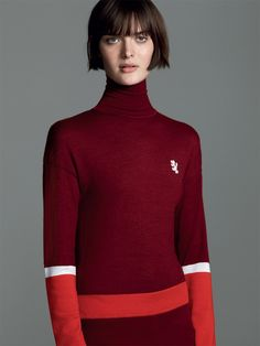 "femalemodels: "" Sam Rollinson by Roe Ethridge for Pringle of Scotland, Fall/Winter 2014. """