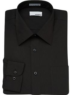 Dress Shirts - Modena Black Dress Shirt - Men's Wearhouse