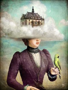 """""""Castle in the Clouds"""" by Christian Schloe"""