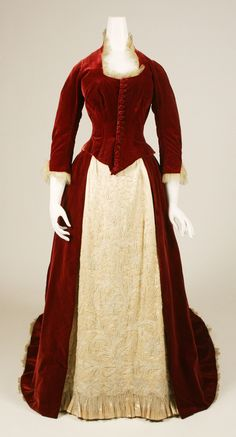 1884 evening ensemble (this is amazing some one please make this for me)